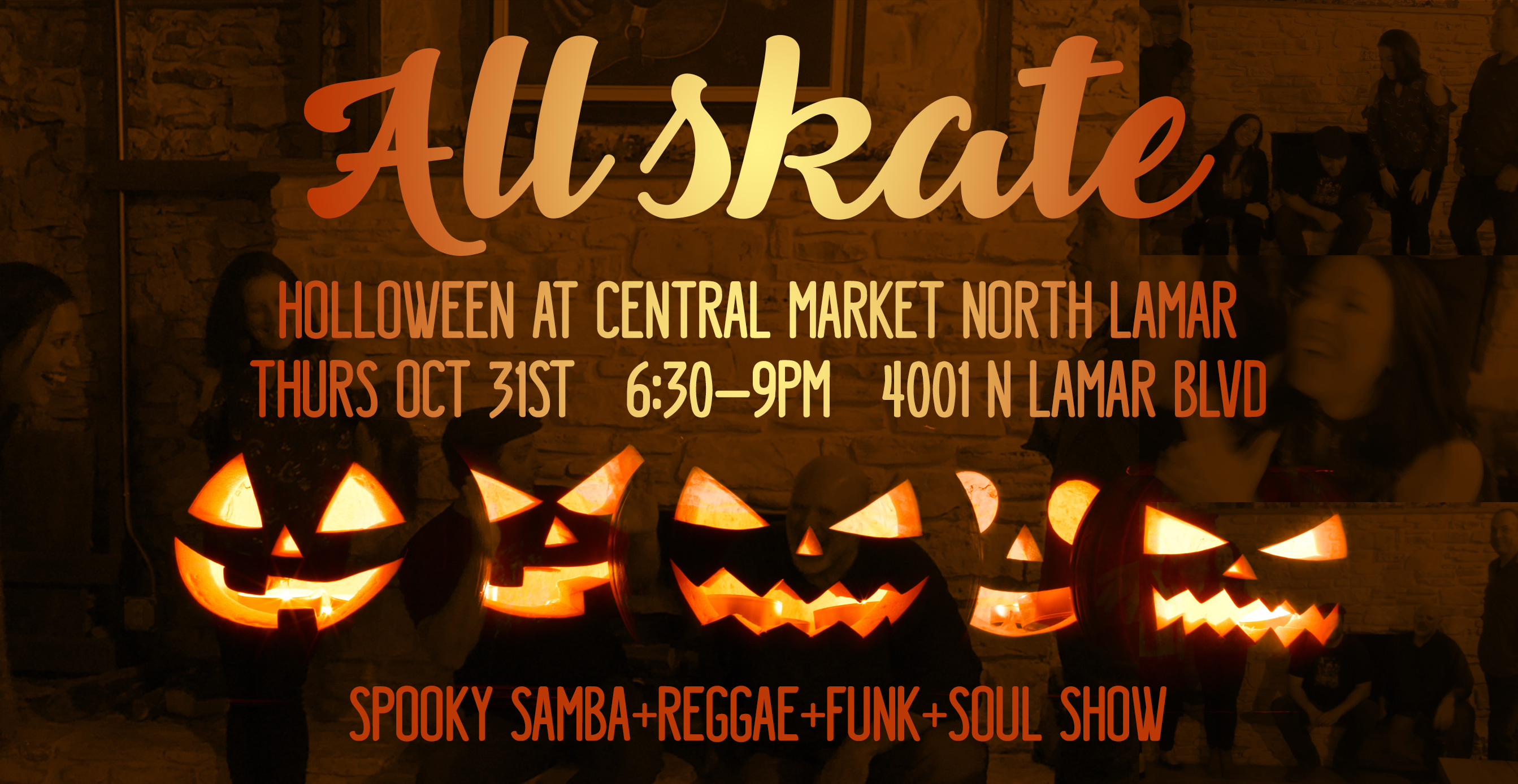 All Skate Halloween 2019 at Central Market North